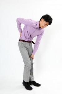 立位の腰痛