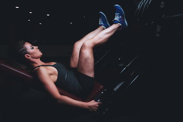 膝を使う運動